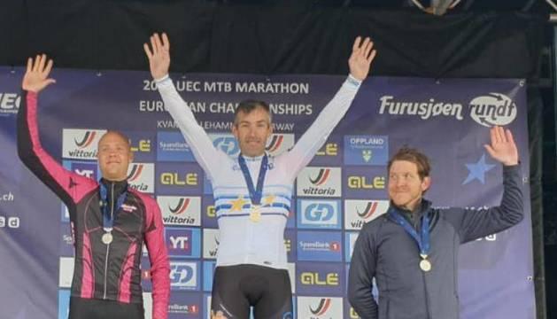 Cía, bicampeón de Europa