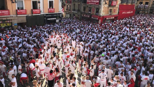 San Fermín 2019 arranca a las 12 con el chupinazo a ritmo de La Pamplonesa
