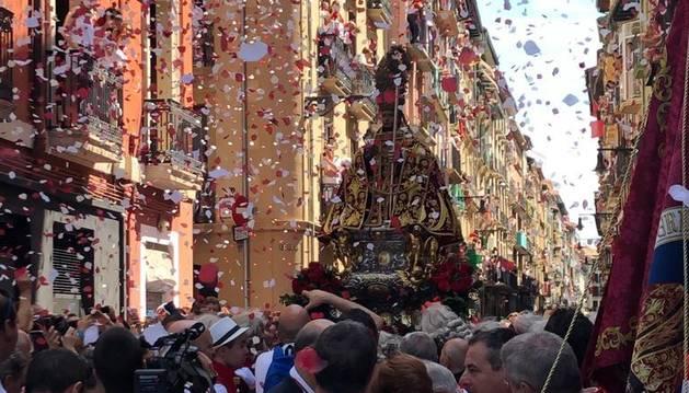 Procesión de San Fermín 2019