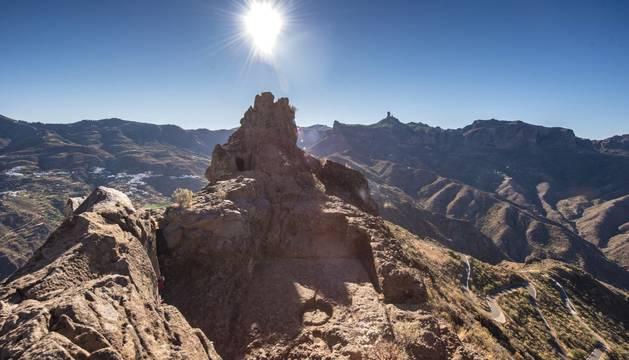 El yacimiento de Risco Caído en Gran Canaria