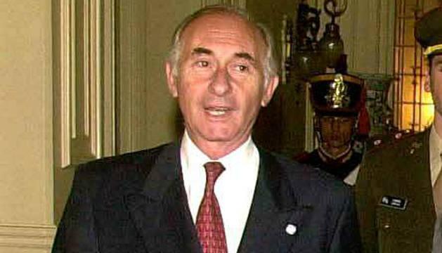 Fernando de la Rúa, en una imagen del año 2001.