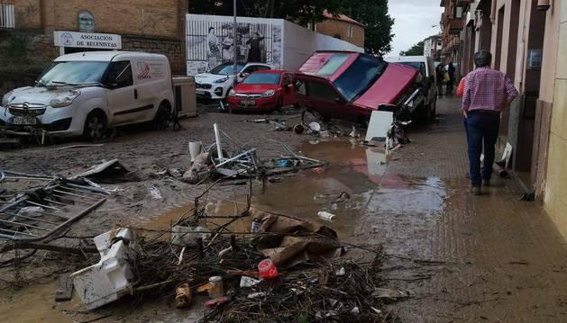 EN DIRECTO las inundaciones en Navarra: reuniones de emergencia para valorar los daños en Tafalla