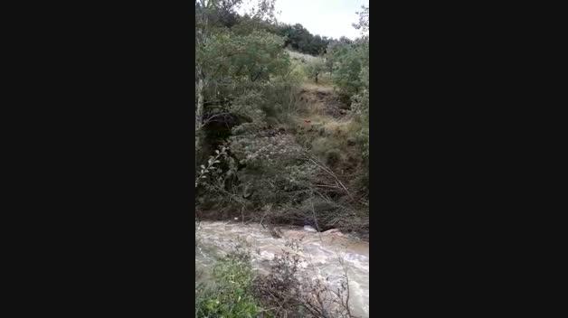 Rescate del fallecido por las inundaciones en Navarra