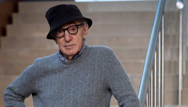 foto de El director neoyorquino Woody Allen inicia el rodaje de su última película en San Sebastián