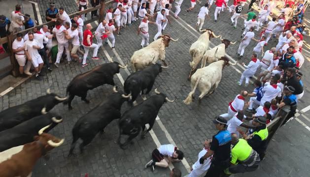foto de Cuarto encierro de San Fermín 2019