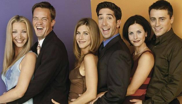Foto del reparto de 'Friends'.