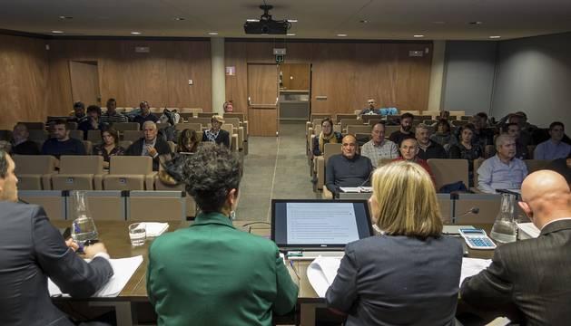 La asamblea de Mancomunidad de Montejurra, en una convocatoria de la pasada legislatura.