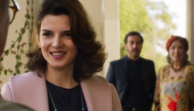 Clara Lago, en la película de Campanella