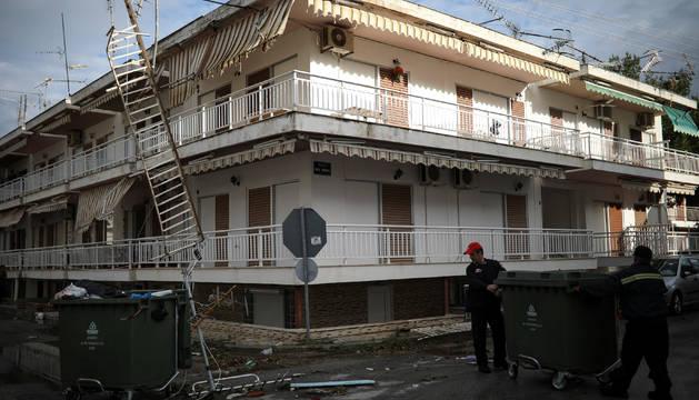 Seis turistas muertos y decenas de heridos por un temporal en Grecia