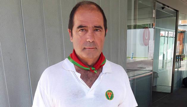José Antonio Fabo, este viernes, a su salida de urgencias.
