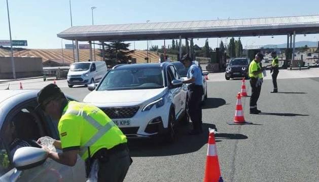 Una de cada tres pruebas de drogas a conductores en San Fermín son positivas