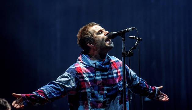 Liam Gallagher, en la apertura del Bilbao BBK Live.