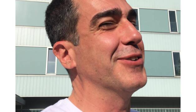 Ignacio Jaime Moreno, a la salida de Urgencias.
