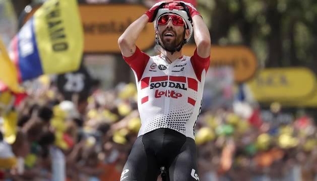 De Gent culmina una enorme escapada y Alaphilippe recupera el liderato del Tour