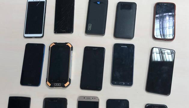 Dos detenidos con 13 móviles en su poder robados en San Fermín