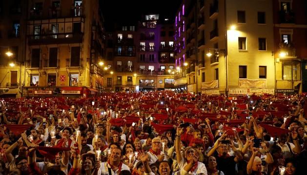 Pamplona dice adiós a San Fermín 2019 en el Pobre de Mí