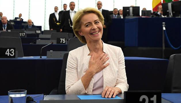 Ursula von der Leyen la primera mujer en presidir la Comisión Europea