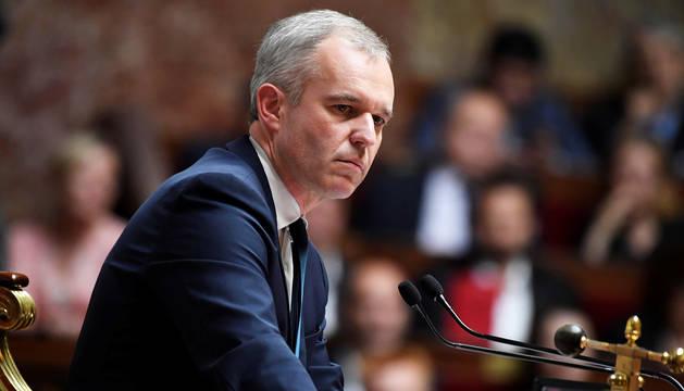 Imagen de archivo del exministro de Medio Ambiente francés François de Rugy.