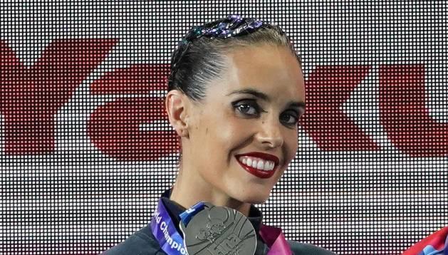 Ona Carbonell en los Campeonatos del Mundo se hace con la medalla de plata en la modalidad de Solo Libre