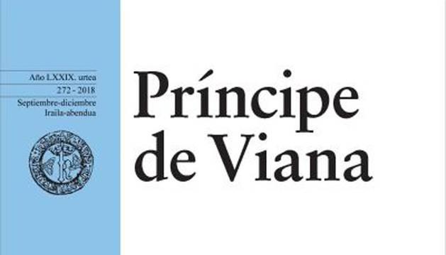 Foto de la portada del número 272 de la Revista Príncipe de Viana, titulado 'Viejos y Nuevos espacios de frontera'.