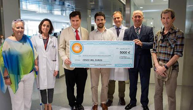 Especialistas de la CUN implicados en la  investigación de los tipos de células inmunes en la mesotelioma