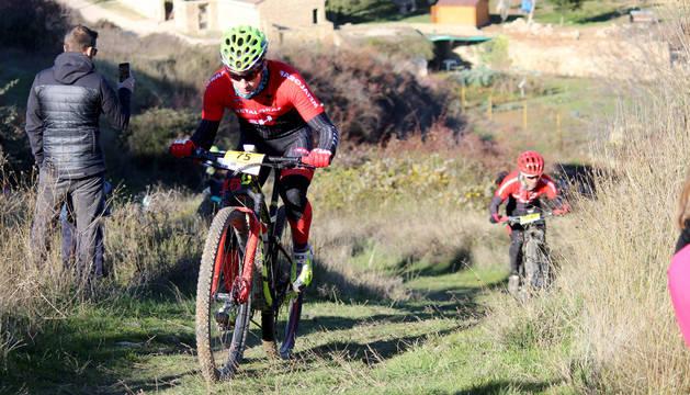 Arguedas ya respira mountain bike