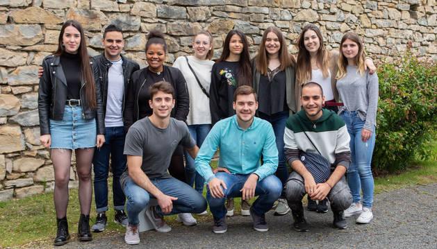 Doce estudiantes de la UPNA han participado este curso en el programa Ruiseñor