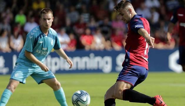 Los rojillos vencieron 3-0 contra Osasuna Promesas en el primer ensayo de la pretemporada disputado en Tajonar. Marcaron Roberto Torres y Rubén García, por partida doble.