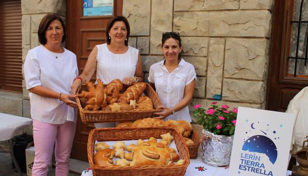 Panes y pinchos ideados para la degustación de productos locales con estrella, una iniciativa que se celebró también en la edición del año pasado de Lerin Tierra Estrella.