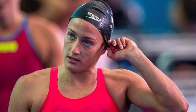 Belmonte no podrá competir por medalla en los 200 metros estilos y 400 libres