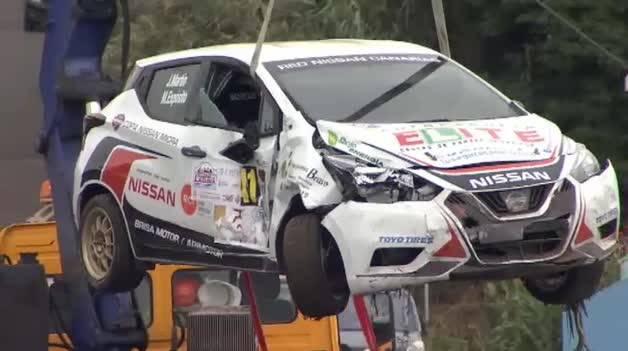 Un espectador fallece atropellado por un coche en un rally en Tenerife