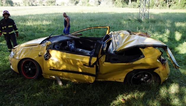 El testigo que dio aviso del accidente de Salamanca es familiar de una de las víctimas