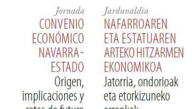 Publicado en papel el libro 'Convenio Económico Navarra-Estado'
