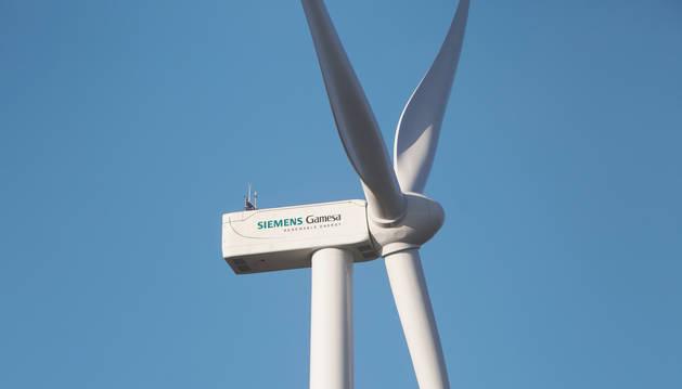 foto de Turbina de un aerogenerador de Siemens Gamesa