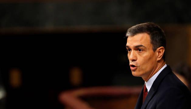 INVESTIDURA EN DIRECTO: Sánchez propone una  reforma de la Constitución para evitar