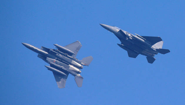 foto de Corea realiza disparos de advertencia a aviones rusos por violar su espacio aéreo