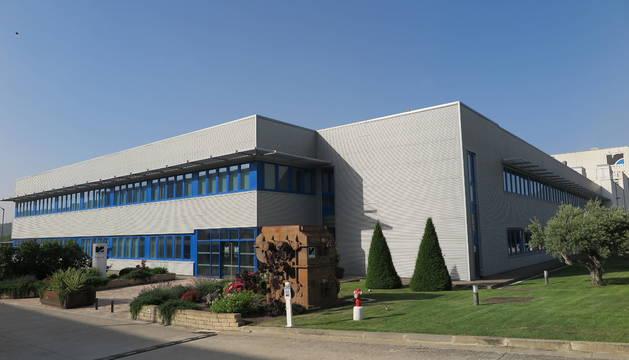 La planta de Renolit en el polígono San Miguel de Villatuerta.