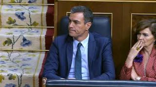 Intervención de García Adanero en la investidura de Sánchez