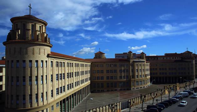 Antiguo colegio Maristas de Pamplona