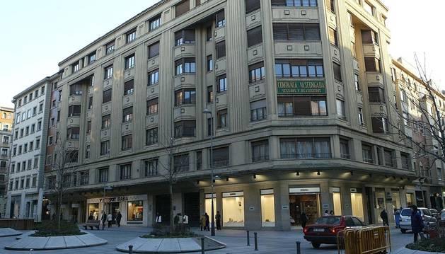Sede de Sodena en la avenida de Carlos III.