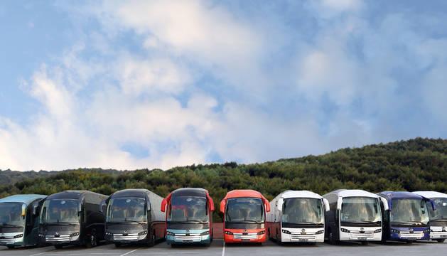 Sunsundegui se dedica al carrozado de autobuses y autocares.