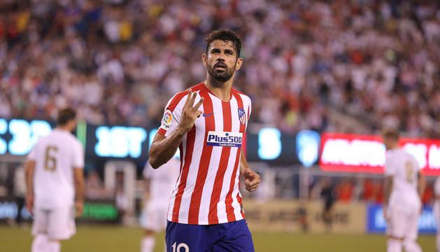 Diego Costa, tras anotar uno de sus cuatro goles.