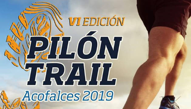 Foto del cartel del VI Pilón Trail en Falces