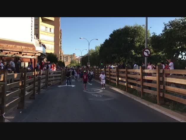 Vídeo del encierro del día 29 de fiestas de Tudela 2019
