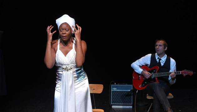 Ludmilla Dabo, en la piel de Nina Simone, compartirá escenario con David Lescot, director, actor y dramaturgo de la obra.