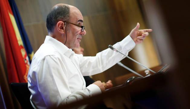 foto de El vicepresidente de Desarrollo Económico en funciones, Manu Ayerdi