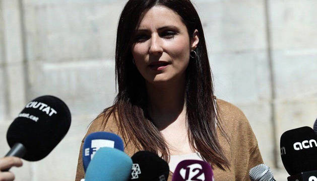 La portavoz de la Ejecutiva Nacional y en el Senado de Ciudadanos, Lorena Roldán.