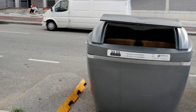 Hallan el cadáver de un recién nacido en un contenedor de basura de Gijón