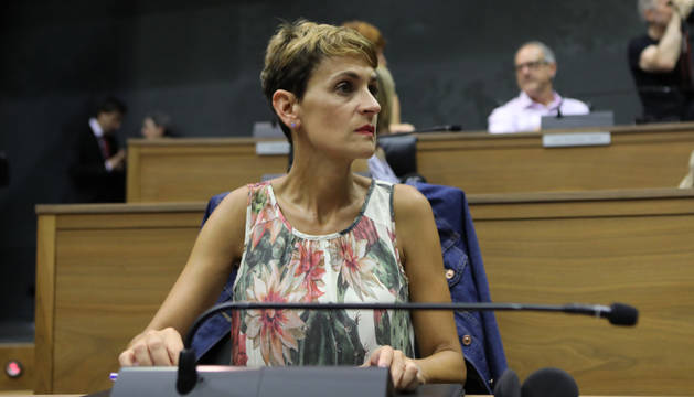foto de María Chivite, nueva presidenta del Gobierno de Navarra