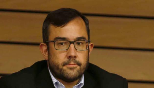 foto de Javier Remírez, vicepresidente primero y consejero de Presidencia, Igualdad, Función Pública e Interior del Gobierno de Navarra